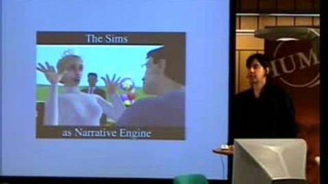 """Thumbnail for entry 051025 Barrett: """" The Sims as Narrative Engine"""""""