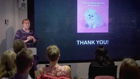 """Thumbnail for entry 180906 Hasselgren: """"The Internet Cat Video Festival"""""""