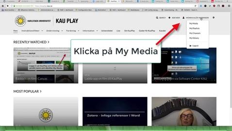 Thumbnail for entry Skapa en Playlist och bädda in den i Canvas