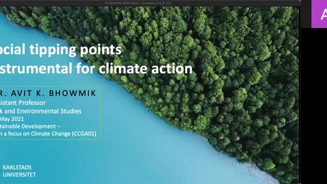 Thumbnail for entry CCGA01 - Lecture 3.5 - Social tipping points instrumental for climate action