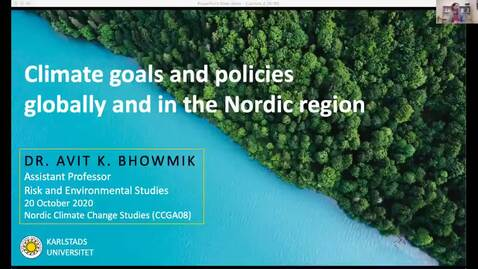 Thumbnail for entry CCGA08 - Lecture 7 - Climate goals and policies globally and in the Nordic region