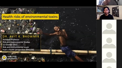 Thumbnail for entry RHG 200 - Lecture 2.4 - Health Risks of Environmental Toxins