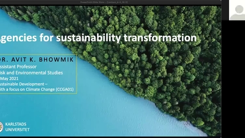 Thumbnail for entry CCGA01 - Lecture 3.4 - Agencies for Sustainability Transformation