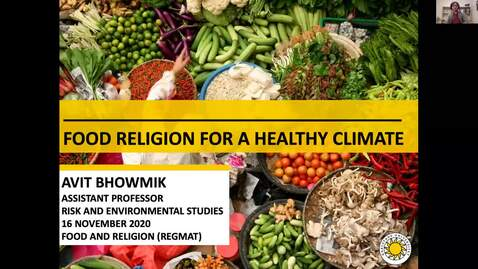 Thumbnail for entry Food Religion for a Healthy Climate