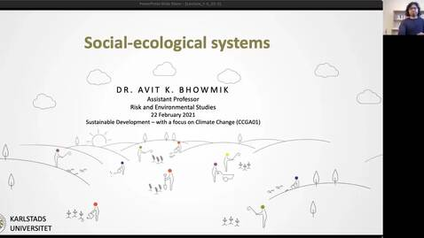 Thumbnail for entry CCGA01 -  Lecture 1.4 - Social-ecological systems