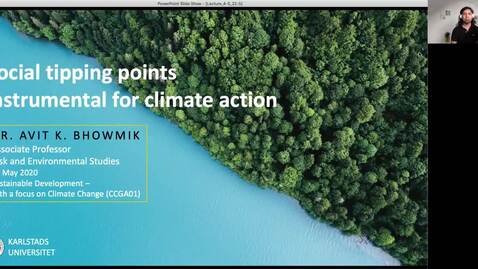 Thumbnail for entry CCGA01 - Lecture 4.5 - Social tipping points instrumental for climate action