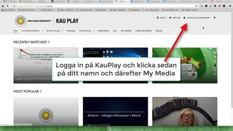 Thumbnail for entry Bädda in en film i Canvas
