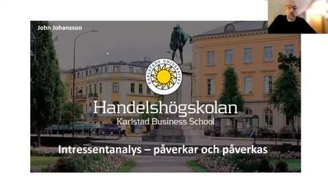 Thumbnail for entry Intressentanalys - påverkar och påverkas