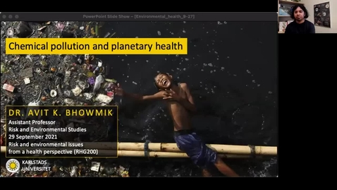 Thumbnail for entry RHG 200 - Lecture 2.2 - Chemical pollution and planetary health