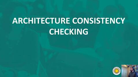 Thumbnail for entry Software Architecture - Consistency Checking