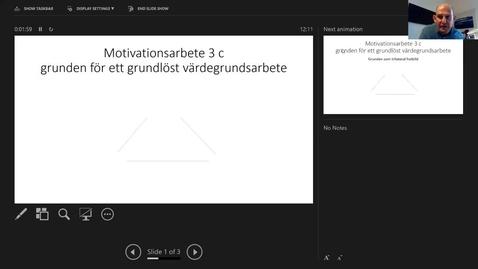 Thumbnail for entry Motivationsarbete 3 c: Ideologikritisk problematisering av värdegrundsarbete