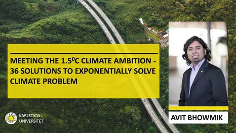 Thumbnail for entry Avit Bhowmik on Exponential Climate Action Roadmap