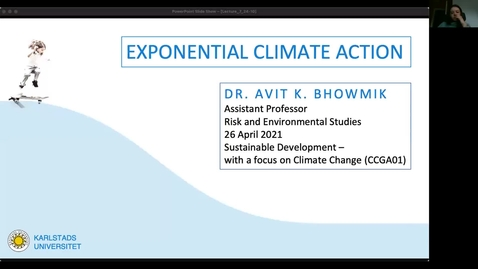 Thumbnail for entry CCGA01 - Lecture 3.3 - Exponential Climate Action