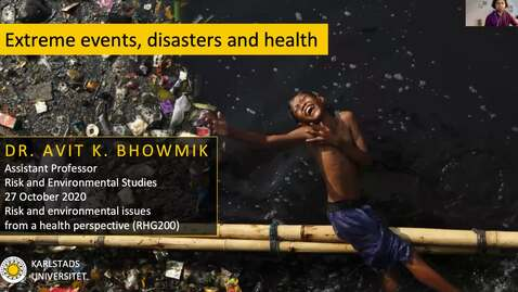 Thumbnail for entry RHG 200 - Lecture 3.2 - Extreme events, disasters and health