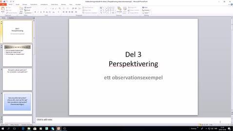Thumbnail for entry Undersökningsmetodik för lärare 3