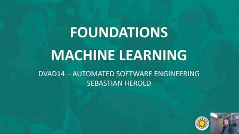 Thumbnail for entry ML - Introduction to Machine Learning