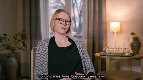 Thumbnail for entry Bioeconomy and Business. An interview with researcher Hanna Martin, CRS, Karlstad University
