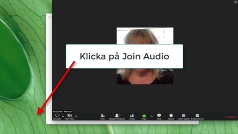 Thumbnail for entry Test speaker & microphone i Zoom