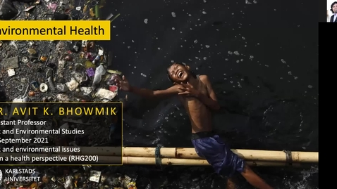 Thumbnail for entry RHG200 - Lecture 2.1 - Environmental health