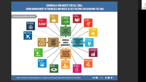 Thumbnail for entry RHG 220 - Lecture 4 - Chemical pollution and sustainable development goals