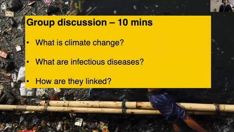 Thumbnail for entry RHG 200 - Lecture 3.1 - Climate change and infectious diseases
