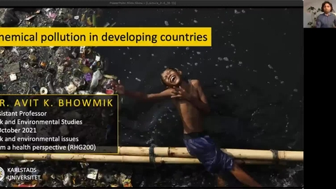 Thumbnail for entry RHG200 - Lecture 2.3 - Chemical pollution in developing countries