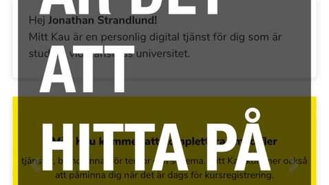 Thumbnail for entry Instruktion Mitt Kau 2020