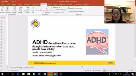 Thumbnail for entry ADHD Lecture