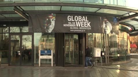 Tumnagel för Global Week