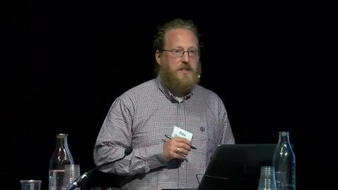 Tumnagel för Big Data Symposium - n Etudes: Artistic Intervention