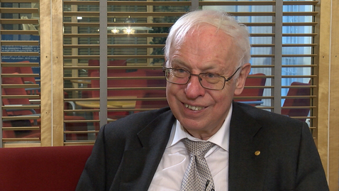 Tumnagel för Nobelpristagaren Tomas Lindahl besökte Göteborg