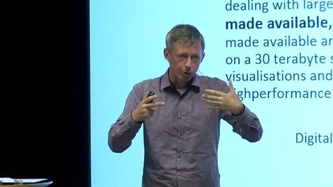 Tumnagel för Big Data Symposium - Visualizing Big Data