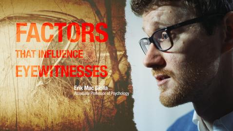 Tumnagel för What factors influence eyewitnesses?
