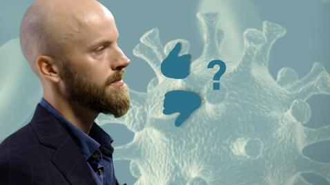 Tumnagel för Forskare förklarar: Svenskarna och coronapandemin