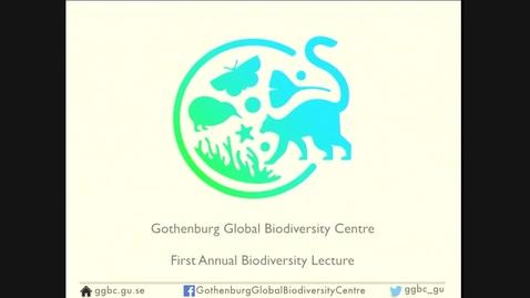 Tumnagel för Gothenburg Global Biodiversity Centre