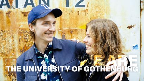 Tumnagel för We are the University of Gothenburg