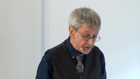 Tumnagel för Honorary Doctor Charles Burnett 2018
