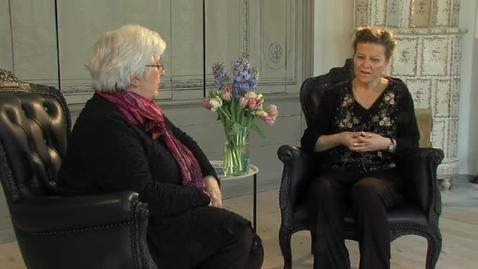Miniatyr för inlägg Personcentrerad vård - Malin Högberg samtalar med professor Astrid Norberg