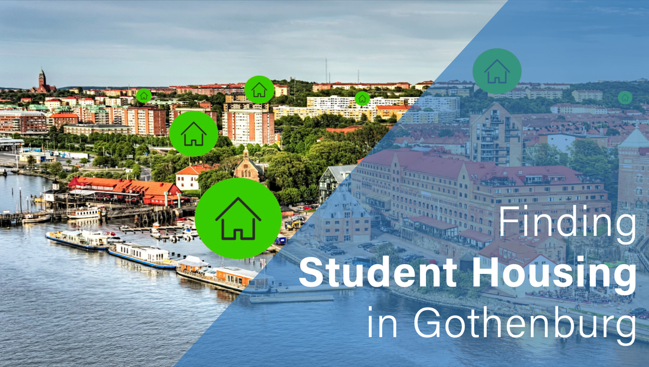 Finding student housing in Gothenburg