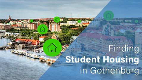 Tumnagel för Finding student housing in Gothenburg