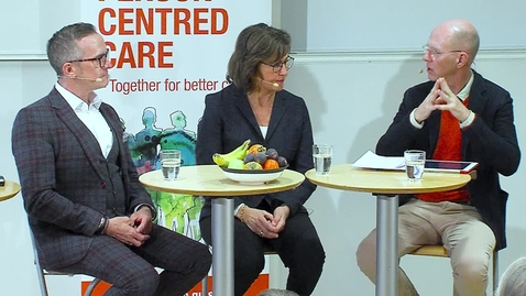Tumnagel för A Dialogue about Person-centred Care between Brendan McCormack and Inger Ekman