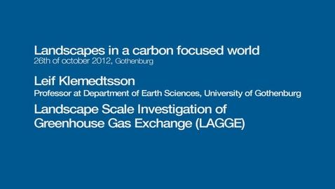 Tumnagel för Landscape Scale Investigation of Greenhouse Gas Exchange (LAGGE)