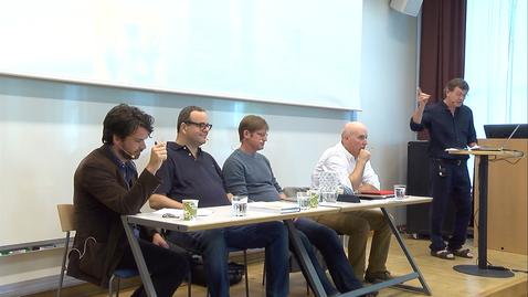 Tumnagel för Author-meets-critics session part 1