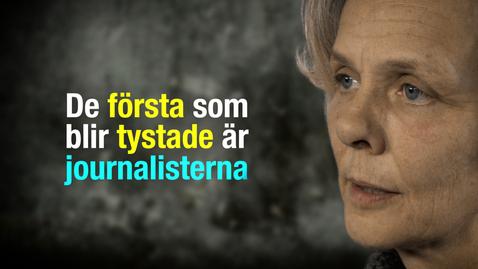 """Tumnagel för TALA: Tysta journalisterna och ta makten över """"sanningen"""""""
