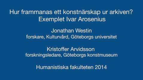 Miniatyr för inlägg Hur frammanas ett konstnärskap ur arkiven? Exemplet Ivar Arosenius