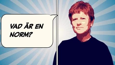 Tumnagel för Lena Martinsson: Vad är en norm?