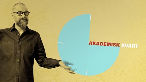 Tumnagel för Akademisk kvart: Från riksvapen till varumärke