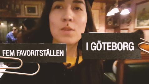 Tumnagel för Emelys fem favoritställen i Göteborg