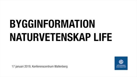 Miniatyr för inlägg Bygginformation Naturvetenskap Life