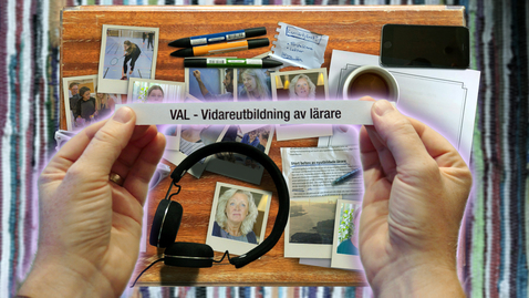 Tumnagel för Få lärarexamen genom VAL